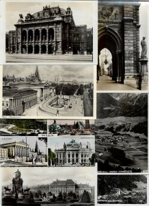 Austria Wien Vienna Sankt Gallenkirch And More Postcard Lot of 18 01.07