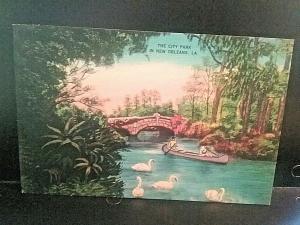 Postcard The City Park, New Orleans, LA   Z5