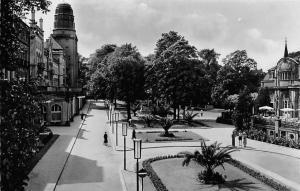 Bad Neuenahr Blick auf die Anlagen zwischen Kurhotel und Casino