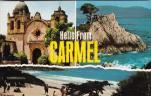 Greetings Hello From Carmel California