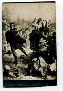 3043789 Philosopher Goethe on skate area Vintage RPPC