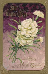 Easter Greetings - All Easter Joys be Thine - DB