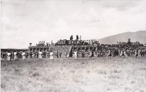 RP; MEXICO; Entrega de la Princesa, Al Guerrero Triunfante, Teotihuacan, 30-40s