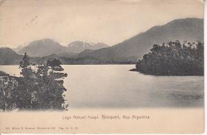 Compliments of Argentina Republic at St.Louis Expo 1904 Card