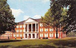 Buckhannon~West Virginia Wesleyan College~Fleming Hall dorm~Students~1960s PC