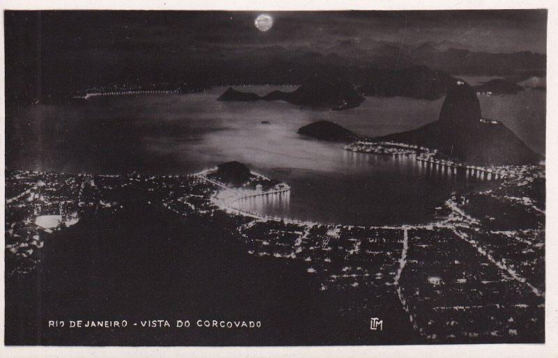 RP; RIO DE JANEIRO, Brazil, 1920-1940s; Vista Do Corcovado
