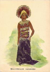 CPA Balineesche Danseres INDONESIA (565935)