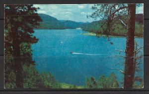 South Dakota - Black Hills - Speedboating On Lake Sheridan