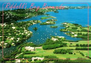 Bermuda Riddell's Bay Looking South West Across Golf Course