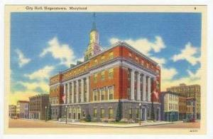 City Hall, Hagerstown, Maryland, 30-40s