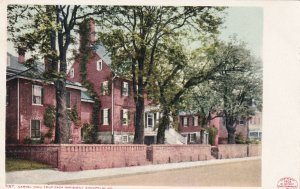 ANNAPOLIS, Maryland, 1900-1910s; Carvel Hall (Old Paca Mansion)