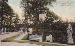 New Jersey Lakewood The Italian Gardens Georgian Court