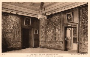 Lord Darnley's Audience Chamber,Palace of Holyroodhouse,Scotland,UK
