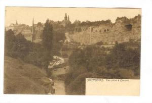 Vue Prise A Clausen, Luxembourg, 1900-1910s