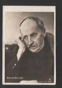 120378 Romain ROLLAND Great French WRITER Vintage PHOTO RARE