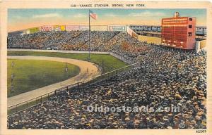 Yankee Stadium Bronx, New York, NY, USA 1938