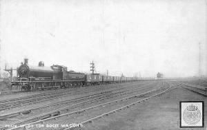 Train of 30 Ton Bogie Wagon's Train Railway Railroad