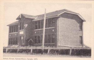 ELROSE, Saskatchewan, Canada 20-40s; School