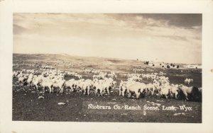 RP; LUSK, Wyoming, 10-20s; Niobrara County, Ranch Scene