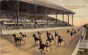Syracuse, NY, USA State Fair, Trotters Horse Racing Unused