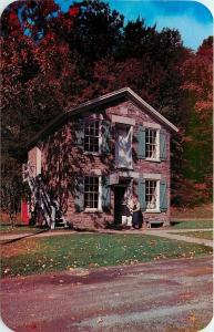 Middlefield-Cooperstown New York~Printing Office~1950s Postcard