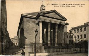 CPA PARIS 7e-Eglise Saint Pierre du Gros Caillou (327505)