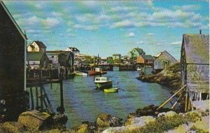 Canada Nova Scotia Peggy's Cove 1970