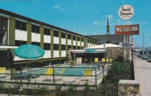 David Thompson Motor Inn , KAMLOOPS , B.C., Canada , 50-60s