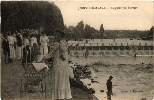CPA JOINVILLE-PLAGE Baigneurs au Barrage (671965)