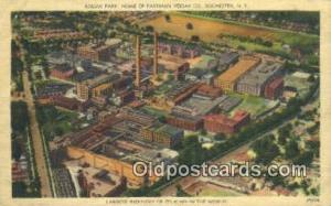 Kodak Park, Rochester, NY USA Camera Post Card Postcard Old Vintage Antique  ...