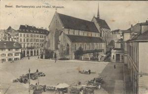 Switzerland Basel Barfüsserplatz und Histor Museum 02.99