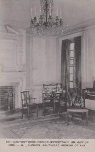 Maryland Baltimore Museum Of Art XVIII Century Room From Chestertown Artvue