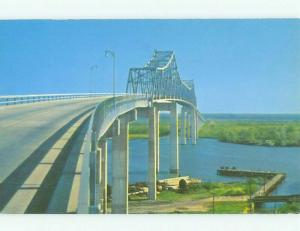 Unused Pre-1980 BRIDGE SCENE Savannah Georgia GA HQ9484