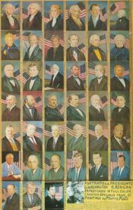 Portraits Of U S Presidents By Morris Katz