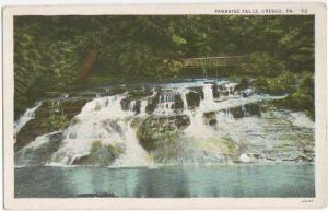 Paradise Falls Cresco PA -White Border-