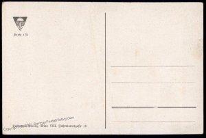 Austria Rosenburg Castle WWI German Unification DSV Patriotic Postcard UNU 98826