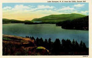 NH - Lake Sunapee. View from Cliffs, Garnet Hill.