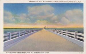 Florida Pensacola 2 1/2 Million Dollar Pensacola Bridge Curteich