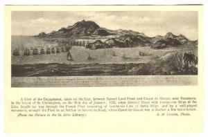 ST KITTS, B.W.I., A view of the Naval Engagement, Basseterre, 1782; 00-10s