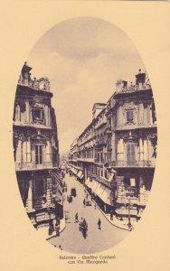 PALERMO , Italy , 00-10s : Quattro Cantoni con Via Macqueda