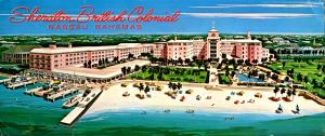 Bahamas - Nassau. Sheraton British Colonial Hotel (3.5 X 8).