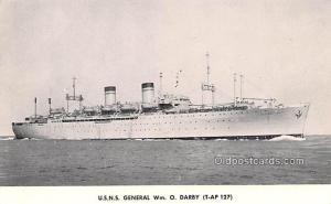 Military Battleship Postcard, Old Vintage Antique Military Ship Post Card USN...