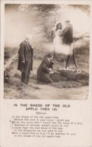 Bamforth Romantic Couple Under The Old Apple Tree No 4 1908