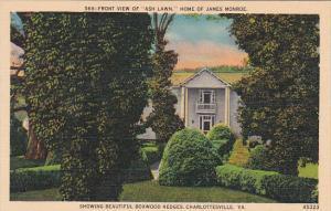 Virginia Charlottesville Showing Beautiful Boxwood Hedges