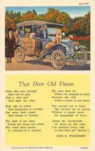 Poem of Antique Car  The Dear Old Flivver