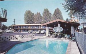 Stardust Motel,swimming pool,Redding,California,40-60s