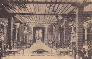 Sevilla , Spain , 00-10s : Gran Hotel de Madrid - Patio Central