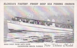 Florida Clearwater Beach Miss Buckeye III Deep Sea Fishing Cruiser