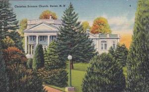 Christian Science Church, Dover, New Hampshire, 30-40s