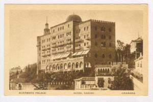 Alhambra Palace, Hotel Casino, Granada, Spain, 20-30s